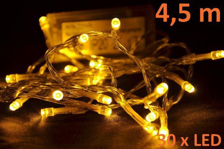 vanocni-led-osvetleni-45-m-teple-bile-30-diod