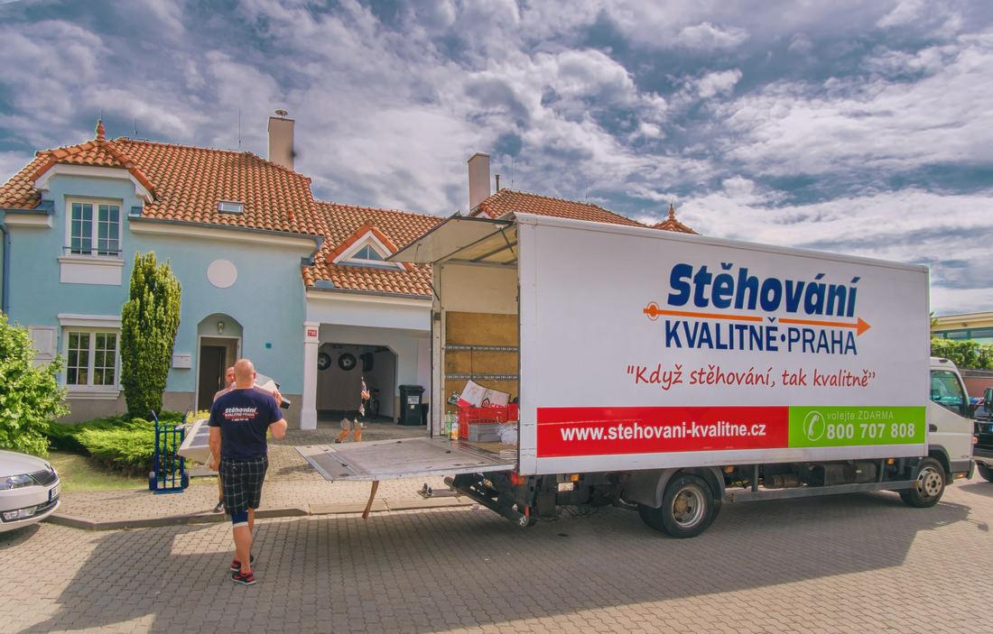 Stěhování kvalitně Praha, ověřená stěhovací společnost